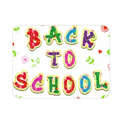 Back To School Double Sided Flano Blanket (mini)  by Amaryn4rt