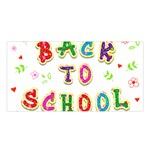 Back To School Satin Shawl Front