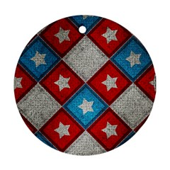 Atar Color Round Ornament (two Sides) by Amaryn4rt