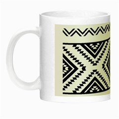 Aztec Pattern Night Luminous Mugs by Amaryn4rt
