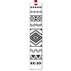 Aztec Pattern Large Book Marks by Amaryn4rt