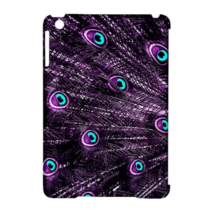 Bird Color Purple Passion Peacock Beautiful Apple iPad Mini Hardshell Case (Compatible with Smart Cover)