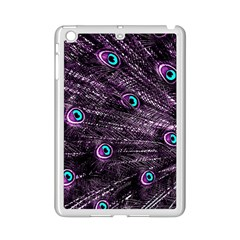 Bird Color Purple Passion Peacock Beautiful Ipad Mini 2 Enamel Coated Cases by Amaryn4rt