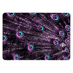 Bird Color Purple Passion Peacock Beautiful Samsung Galaxy Tab 8 9  P7300 Flip Case by Amaryn4rt