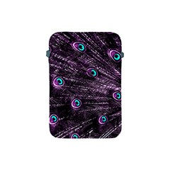 Bird Color Purple Passion Peacock Beautiful Apple Ipad Mini Protective Soft Cases by Amaryn4rt