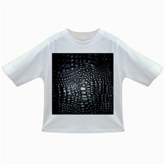 Black Alligator Leather Infant/toddler T Shirts by Amaryn4rt