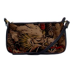 Chinese Dragon Shoulder Clutch Bags by Amaryn4rt