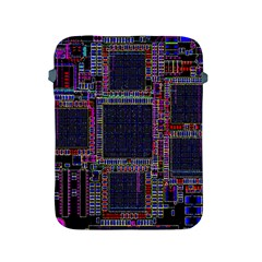 Technology Circuit Board Layout Pattern Apple Ipad 2/3/4 Protective Soft Cases by Amaryn4rt