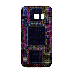 Technology Circuit Board Layout Pattern Galaxy S6 Edge by Amaryn4rt