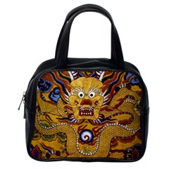 Chinese Dragon Pattern Classic Handbags (one Side) by Amaryn4rt