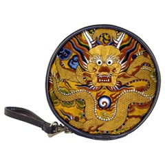 Chinese Dragon Pattern Classic 20 Cd Wallets by Amaryn4rt