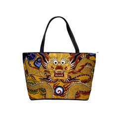 Chinese Dragon Pattern Shoulder Handbags by Amaryn4rt