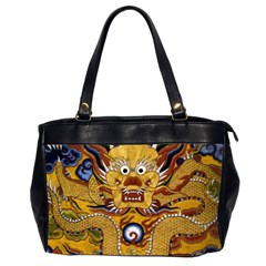 Chinese Dragon Pattern Office Handbags (2 Sides)  by Amaryn4rt