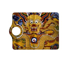 Chinese Dragon Pattern Kindle Fire Hd (2013) Flip 360 Case by Amaryn4rt