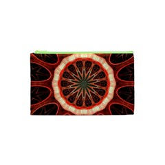 Circle Pattern Cosmetic Bag (xs) by Amaryn4rt