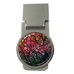 Circle Abstract Money Clips (round)