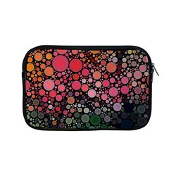 Circle Abstract Apple Macbook Pro 13  Zipper Case by Amaryn4rt