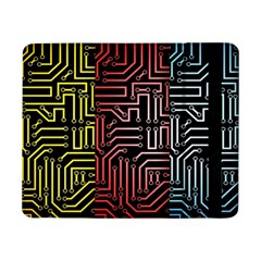 Circuit Board Seamless Patterns Set Samsung Galaxy Tab Pro 8 4  Flip Case by Amaryn4rt