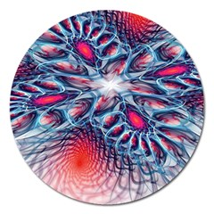 Creative Abstract Magnet 5  (round) by Amaryn4rt