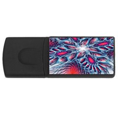 Creative Abstract Usb Flash Drive Rectangular (4 Gb) by Amaryn4rt