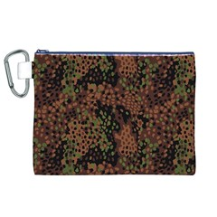 Digital Camouflage Canvas Cosmetic Bag (xl)