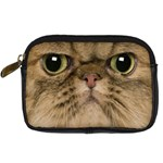 Cute Persian Cat face In Closeup Digital Camera Cases Front