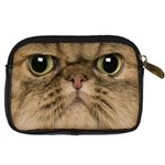 Cute Persian Cat face In Closeup Digital Camera Cases Back