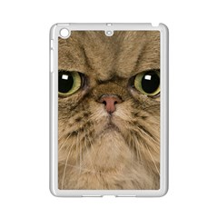 Cute Persian Cat Face In Closeup Ipad Mini 2 Enamel Coated Cases by Amaryn4rt