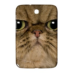 Cute Persian Cat Face In Closeup Samsung Galaxy Note 8 0 N5100 Hardshell Case  by Amaryn4rt