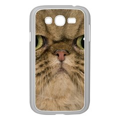 Cute Persian Cat Face In Closeup Samsung Galaxy Grand Duos I9082 Case (white) by Amaryn4rt