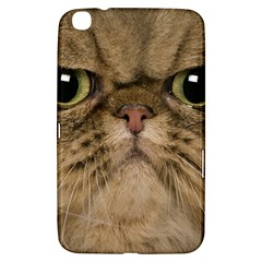 Cute Persian Cat Face In Closeup Samsung Galaxy Tab 3 (8 ) T3100 Hardshell Case  by Amaryn4rt