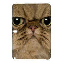 Cute Persian Cat Face In Closeup Samsung Galaxy Tab Pro 12 2 Hardshell Case by Amaryn4rt