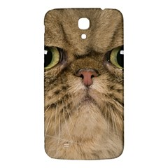 Cute Persian Cat Face In Closeup Samsung Galaxy Mega I9200 Hardshell Back Case by Amaryn4rt