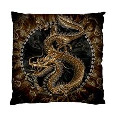 Dragon Pentagram Standard Cushion Case (one Side) by Amaryn4rt