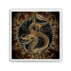 Dragon Pentagram Memory Card Reader (square)  by Amaryn4rt