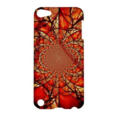 Dreamcatcher Stained Glass Apple Ipod Touch 5 Hardshell Case by Amaryn4rt