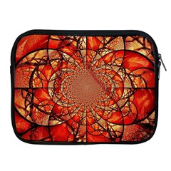 Dreamcatcher Stained Glass Apple Ipad 2/3/4 Zipper Cases by Amaryn4rt