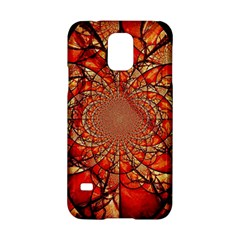 Dreamcatcher Stained Glass Samsung Galaxy S5 Hardshell Case  by Amaryn4rt