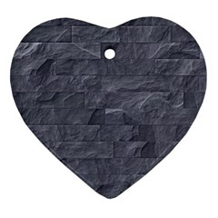 Excellent Seamless Slate Stone Floor Texture Ornament (heart) by Amaryn4rt