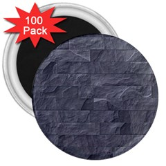 Excellent Seamless Slate Stone Floor Texture 3  Magnets (100 Pack) by Amaryn4rt