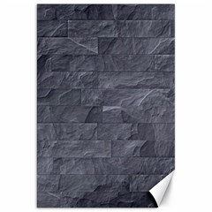 Excellent Seamless Slate Stone Floor Texture Canvas 20  X 30   by Amaryn4rt