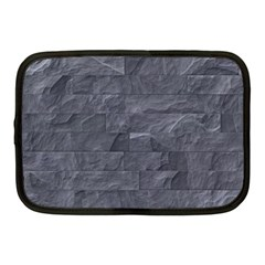 Excellent Seamless Slate Stone Floor Texture Netbook Case (medium)  by Amaryn4rt
