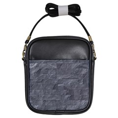 Excellent Seamless Slate Stone Floor Texture Girls Sling Bags by Amaryn4rt