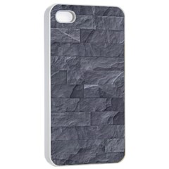 Excellent Seamless Slate Stone Floor Texture Apple Iphone 4/4s Seamless Case (white) by Amaryn4rt