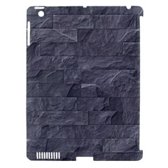 Excellent Seamless Slate Stone Floor Texture Apple Ipad 3/4 Hardshell Case (compatible With Smart Cover) by Amaryn4rt