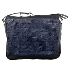 Excellent Seamless Slate Stone Floor Texture Messenger Bags by Amaryn4rt