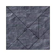 Excellent Seamless Slate Stone Floor Texture Acrylic Tangram Puzzle (6  X 6 ) by Amaryn4rt