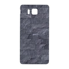 Excellent Seamless Slate Stone Floor Texture Samsung Galaxy Alpha Hardshell Back Case by Amaryn4rt