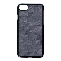 Excellent Seamless Slate Stone Floor Texture Apple Iphone 7 Seamless Case (black) by Amaryn4rt