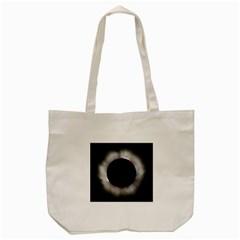 Solar Eclipse Tote Bag (cream) by Amaryn4rt
